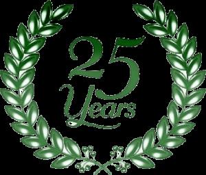 Logo 25 anni